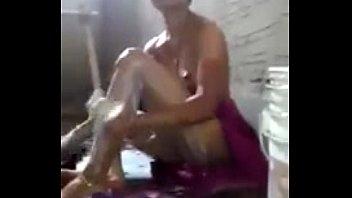 desi bhabi bathing talking to devar