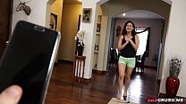 Petite Penelope Reed gets a hot fuck from dad