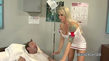 Blonde MILF Brooke Haven is banging in a hospital bed