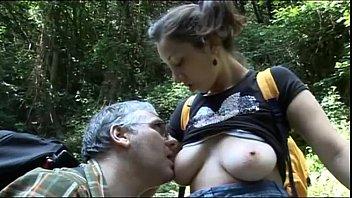 Walk in the wood:daddy screw me