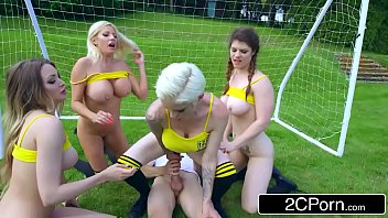 ZZ Cup: Team Big Tits Tamara Grace, Lucia Love, Michelle Thorne, Mila Milan