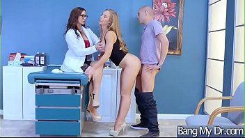 Slut Patient (Kendra Lust & Nicole Aniston) Seduce Doctor In Hard Sex Act video-18