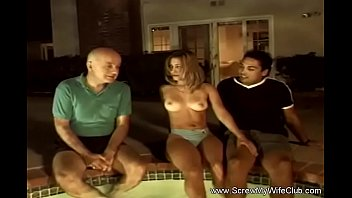 Crazy 3some At The Swinger Pool 12 min