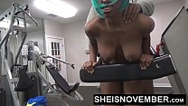 HD Black Cosplay Freak Msnovember Fuck In The Gym By A Stranger  & Blowjob Young  POV PublicSex On Sheisnovember