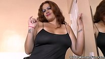 Latina BBW milf Sandra takes matters into her own hands 6 min