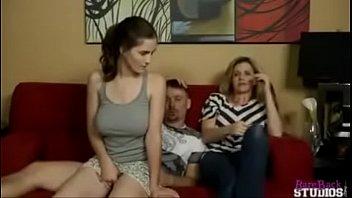 Molly Jane fucks her Dad behind Moms back 8 min