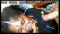 Negra leva jatos de gozo na cara depois do boquete 44 sec