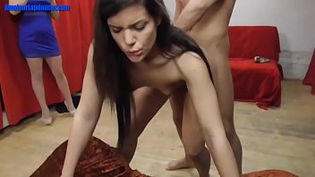 Amateur dancer fucked in doggy style 7 min