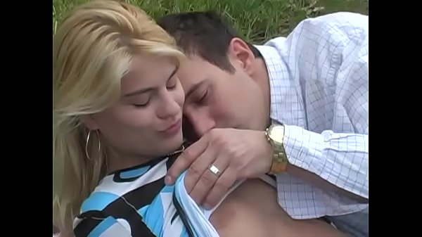 An unleashed girl is slammed by two guys # 4