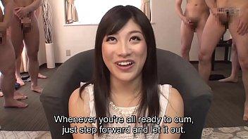 Subtitled CFNM Japanese gokkun party with Miki Sunohara 5 min