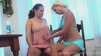 Hot lesbians enjoy pleasuring each other's holes