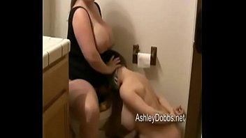 Face fart toilet slave