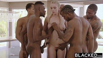 BLACKED Kendra Sunderland BBC interracial GANGBANG!!