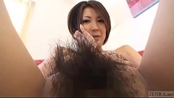 Subtitled Japanese amateur perfect bush naked body check 5 min