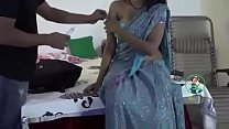 Hot Indian Bhabhi romance With Doctor at Home 7 min