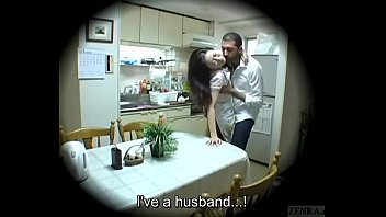 Subtitled Japanese homestay gone wrong host mom blowjob 5 min
