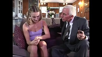 Young girl gets fucked by old couple 21 min