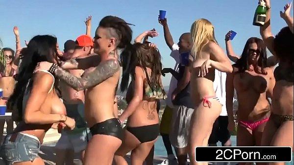 Spring Break Orgy Party - Christy Mack, Raven Bay, Rikki Sixx, Romi Rain