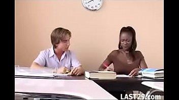 Teacher Midori fucks her white student after class 17 min