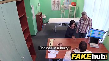Fake Hospital Czech doctor cums over horny cheating wifes tight pussy 12 min
