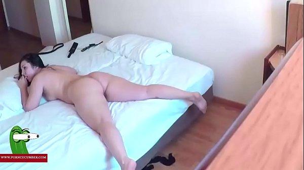 Hidden cam in a hotel room. RAF303