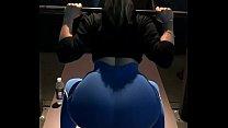 culona en el gym perfecta