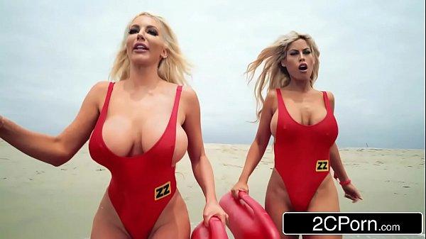 Baywatch XXX Parody - Bridgette B, Nicolette Shea 8 min