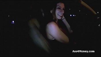 Big tit uber driver sucking my dick 6 min