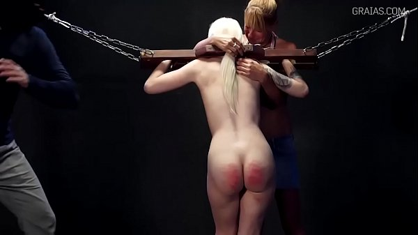 Incredible punishment - 105 cane strokes 5 min