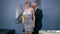 Hardcore Bang With Horny Big Tits Office Girl (Lauren Phillips) video-16