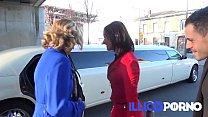 Emma baise en limousine ! FULL video - Illico porno 29 min