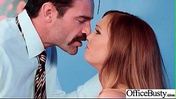 Hard Sex In Office With Big Tits Slut Girl (Dani Jensen) video-10