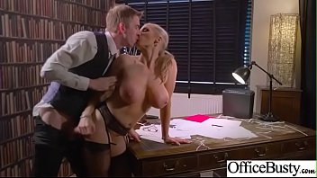 Hardcore Bang With Office Naughty Busty Girl (Rebecca Moore) video-26