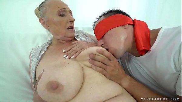 Fat grandma 6 min