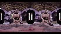 VR Cosplay X Huge Titted Jordan Pryce Is A Sex Warrior VR Porn