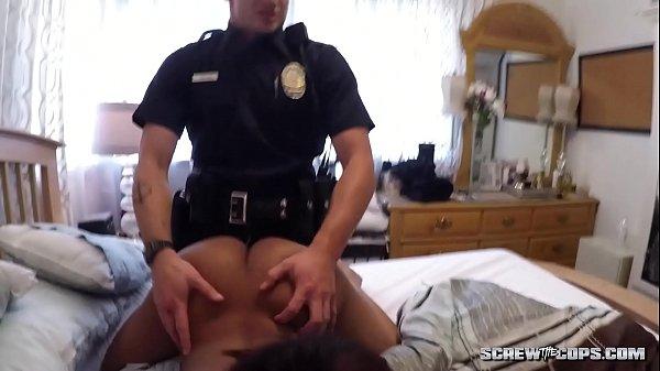 White Cops Fuck Ebony Teen