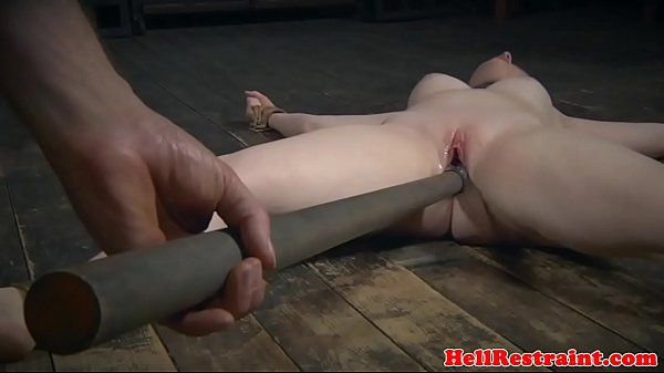 Restrained sub toyed by merciless maledom 7 min
