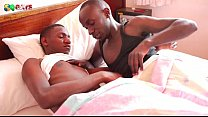 Black African Morning Blowjob