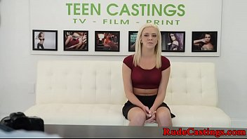 b. casting audition for teenage babe