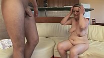 OLD HOUSEWIFE FUCKS WITH YOUNG BOY !! 20 min