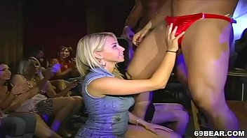 CFNM Stripper party 5 min