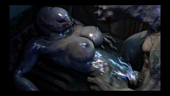 Halo Elites need sex too! (Furry sex, alien sex, Sangheili)
