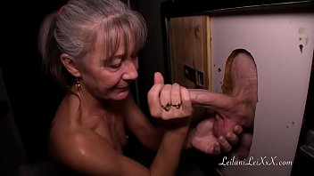Milf Visits Glory Hole for First Time 31 min