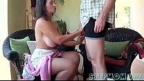 busty stepmom stepson affair-milfbyte.com