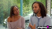 Black swinger couple fucks with other swinger couples 6 min