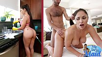 BANGBROS - Hot Latina MILF Maid Marta La Croft Gargles On Big Cock 12 min