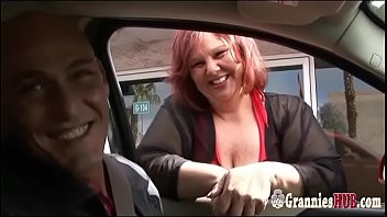 Young Dude Banging Redhead SSBBW GILF With Huge Boobs 25 min