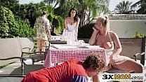 Stepmom & Stepdaughter Picnic 3Some - Bailey Brooke, Reagan Foxx 8 min