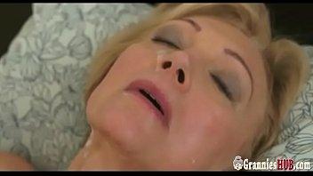 Young Stud Gently Satisfies Lustful Granny Blonde