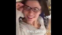 brasileira amadora achou que não ia doer 13 min